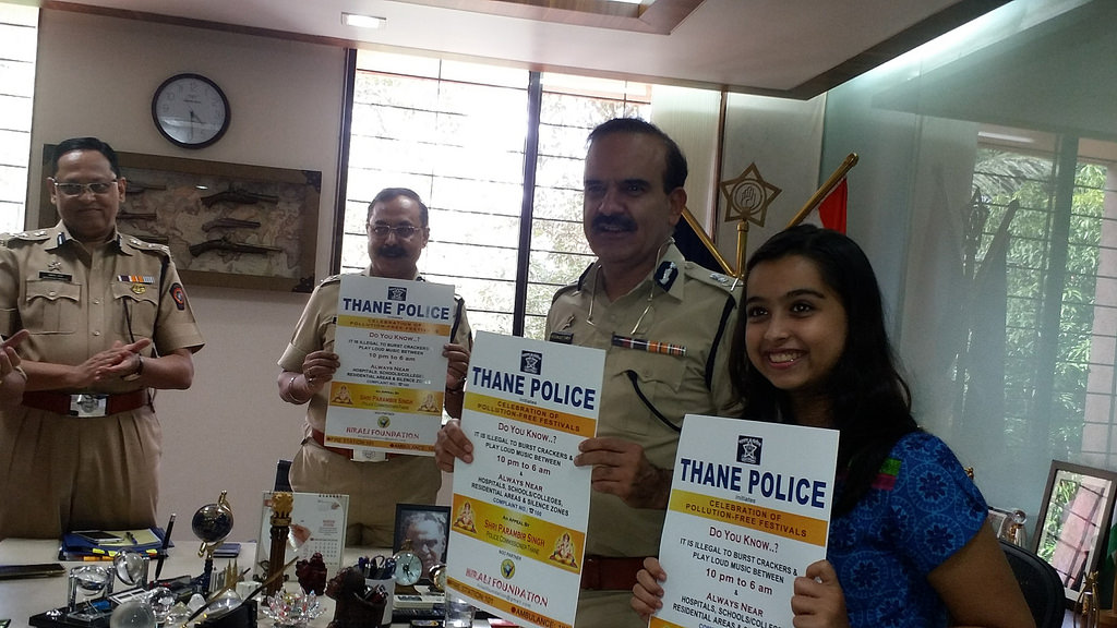 Release of Noise Pollution Poster & Awareness video with Thane Police Commissioner